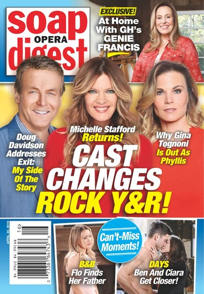 Soap Opera Digest Cover - 4/22/2019