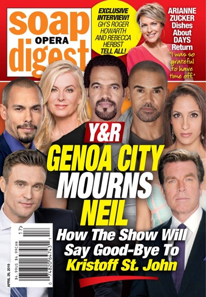 Soap Opera Digest Cover - 4/29/2019