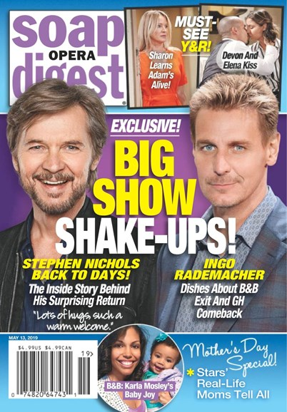 Soap Opera Digest Cover - 5/13/2019