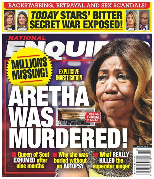 National Enquirer Cover - 5/13/2019