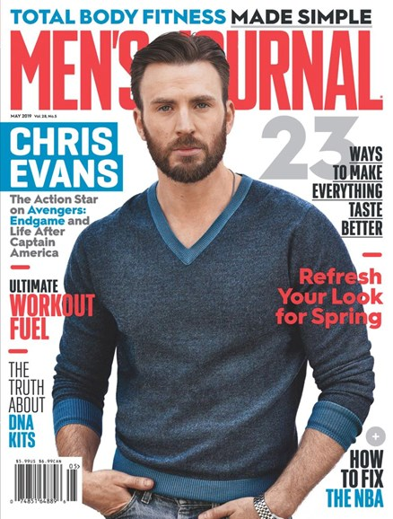 Men's Journal Cover - 5/1/2019