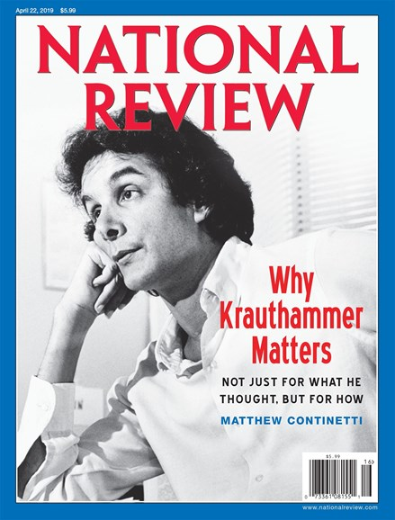 National Review Cover - 4/22/2019