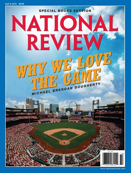 National Review Cover - 4/8/2019