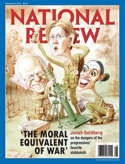 National Review Cover - 2/25/2019