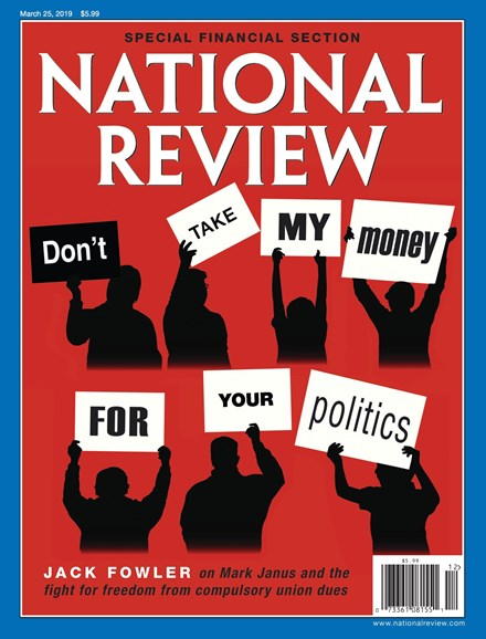 National Review Cover - 3/25/2019
