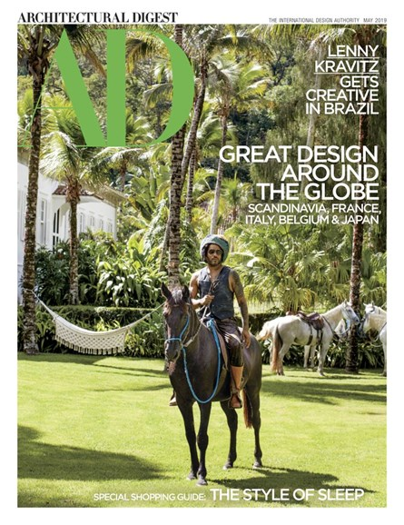 Architectural Digest Cover - 5/1/2019