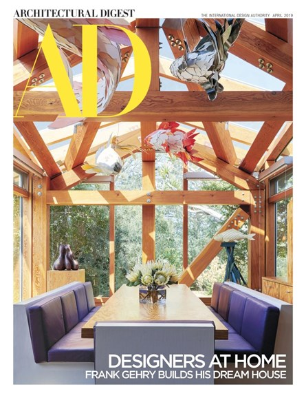 Architectural Digest Cover - 4/1/2019
