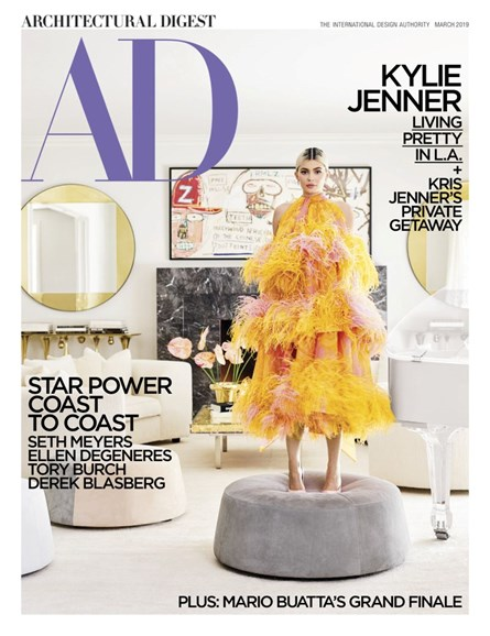 Architectural Digest Cover - 3/1/2019