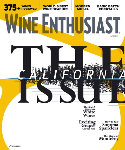 Wine Enthusiast Cover - 6/1/2019