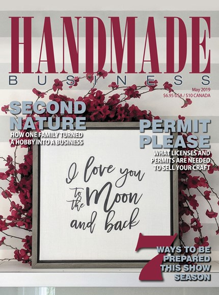 Handmade Business Cover - 5/1/2019