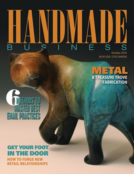 Handmade Business Cover - 10/1/2018