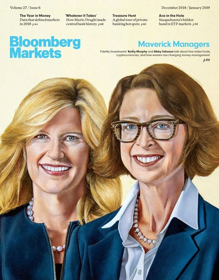 Bloomberg Markets Cover - 12/1/2018