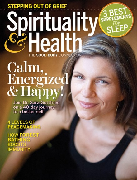 Spirituality & Health Cover - 3/1/2019
