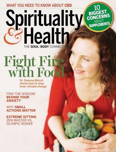Spirituality & Health Cover - 5/1/2019
