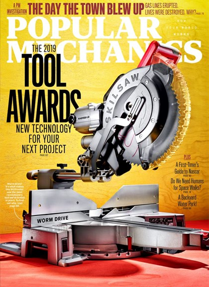 Popular Mechanics Cover - 6/1/2019