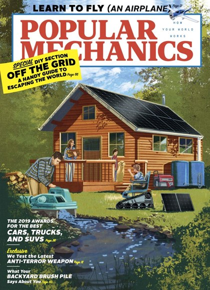 Popular Mechanics Cover - 5/1/2019