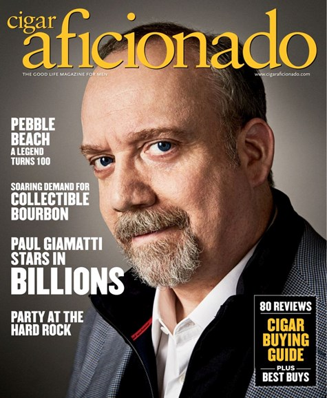 Cigar Aficionado Cover - 5/1/2019