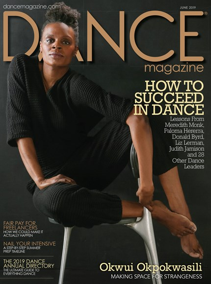 Dance Magazine Cover - 6/1/2019