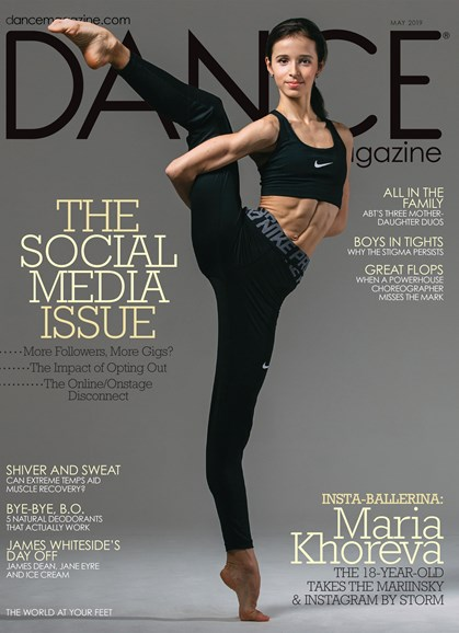 Dance Magazine Cover - 5/1/2019