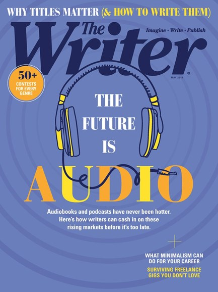 The Writer Cover - 5/1/2019