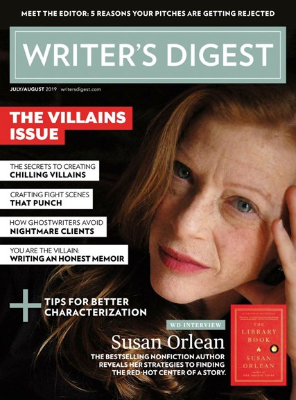 Writer's Digest Cover - 7/1/2019