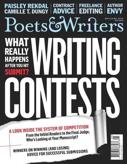 Poets & Writers Cover - 5/1/2019