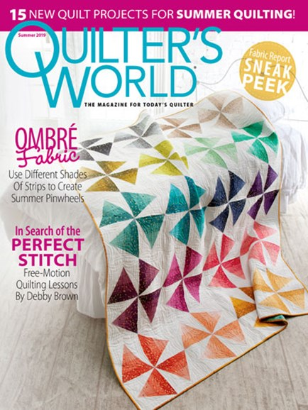 Quilter's World Cover - 6/1/2019