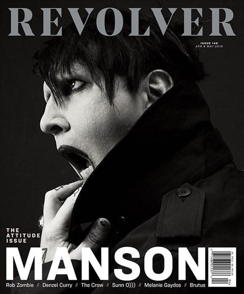 Revolver Cover - 4/1/2019