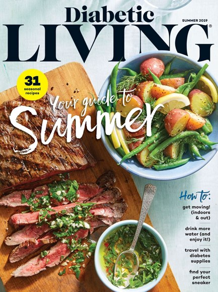 Diabetic Living Cover - 6/1/2019