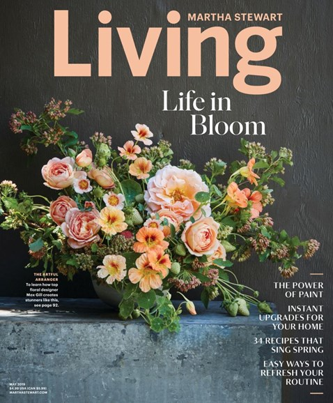 Martha Stewart Living Cover - 5/1/2019