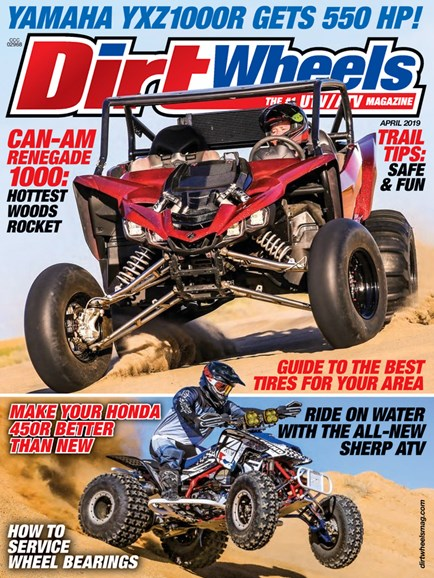 Dirt Wheels Cover - 4/1/2019
