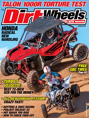 Dirt Wheels Magazine | 6/2019 Cover