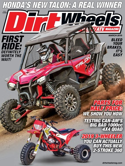 Dirt Wheels Cover - 3/1/2019