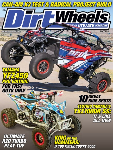 Dirt Wheels Cover - 5/1/2019