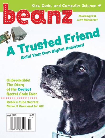 Beanz Cover - 4/1/2018