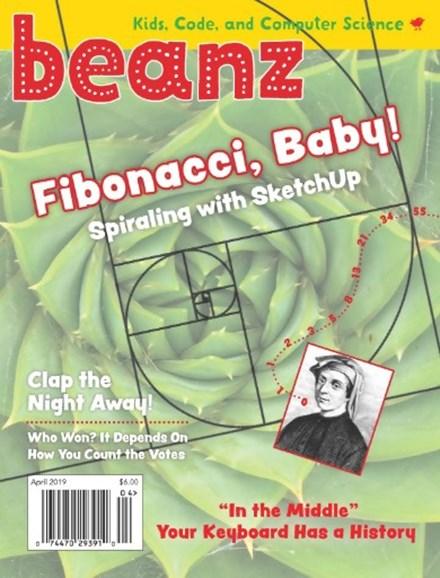 Beanz Cover - 4/1/2019