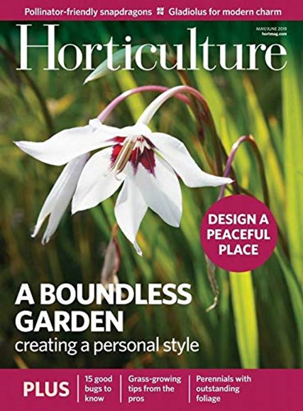 Horticulture Cover - 5/1/2019