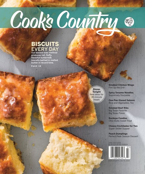 Cook's Country Cover - 6/1/2019