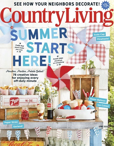 Country Living Cover - 6/1/2019