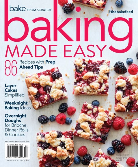 Bake From Scratch Cover - 6/1/2019