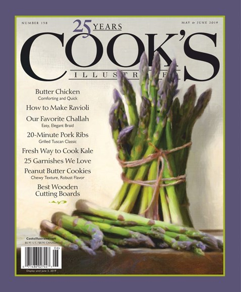 Cook's Illustrated Cover - 5/1/2019