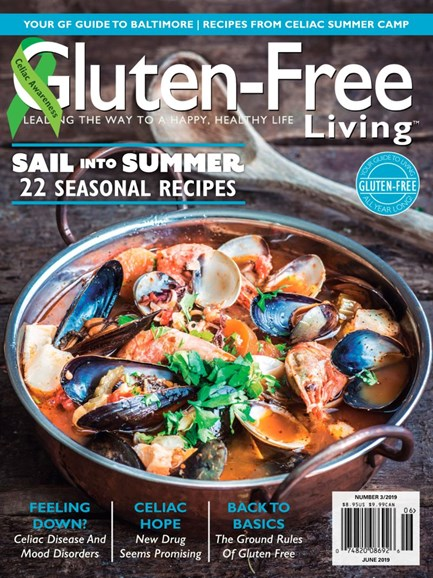 Gluten-Free Living Cover - 5/1/2019