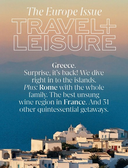 Travel + Leisure Cover - 5/1/2019
