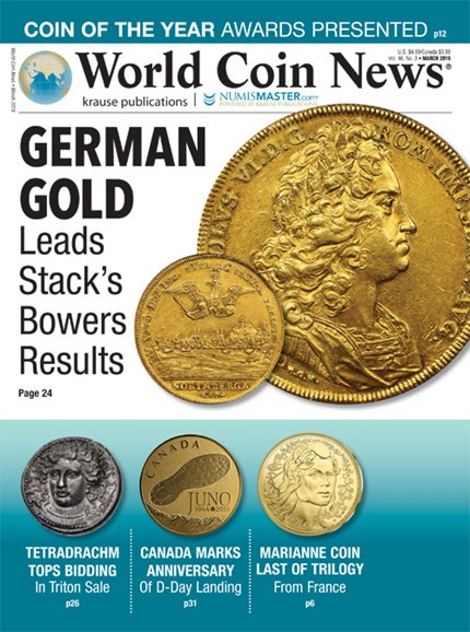World Coin News Cover - 3/1/2019