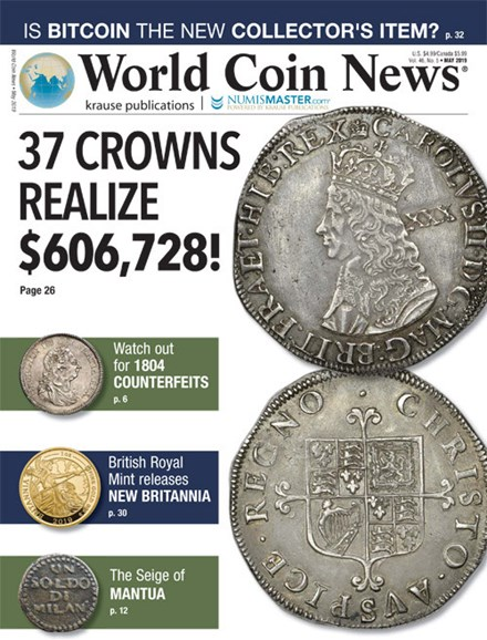 World Coin News Cover - 5/1/2019
