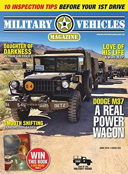 Military Vehicles Cover - 6/1/2019
