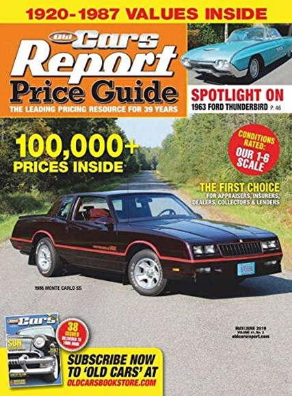 Old Cars Report Price Guide Cover - 5/1/2019