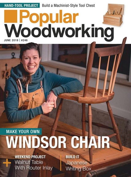 Popular Woodworking Cover - 6/1/2019