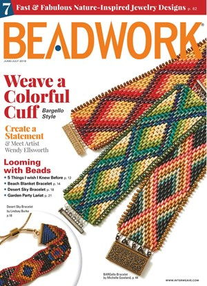 Beadwork Magazine | 6/2019 Cover