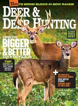 Deer & Deer Hunting Magazine | 6/2019 Cover